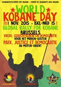 affiche kobane 1 nov
