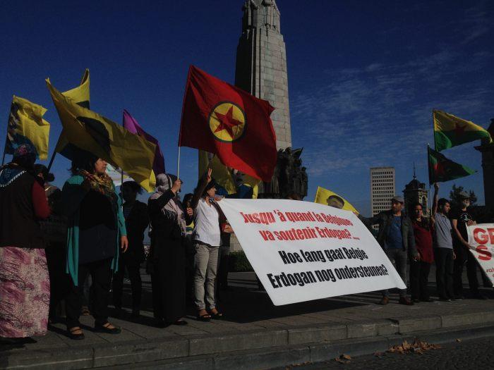 Op 19 september vond op Belgische bodem een gerechtelijke hoorzitting plaats in een zaak tegen Koerdische activisten. Turkije is burgerlijke partij.